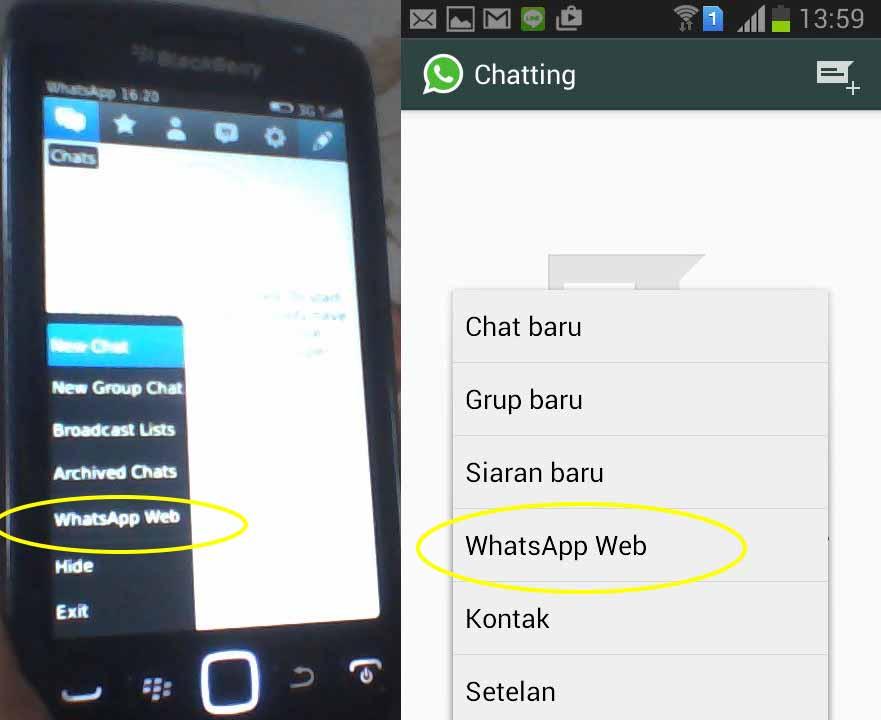 install whatsapp di komputer