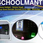 Absensi Deteksi Wajah Bimbel auto WhatsApp