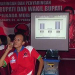 SMS REAL COUNT PILKADA MUBA SUMSEL 2011