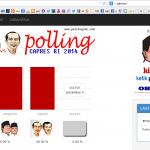 Aplikasi Polling SMS Capres 2014