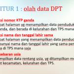 Konversi data DPT dari PDF ke Excel